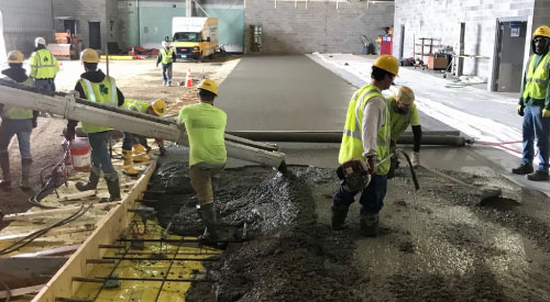 S.D. Ireland Concrete Construction Services